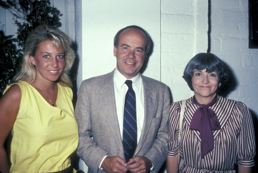 Actor Tim Conway, wife Charlene Fusco and daughter Kelly Conway