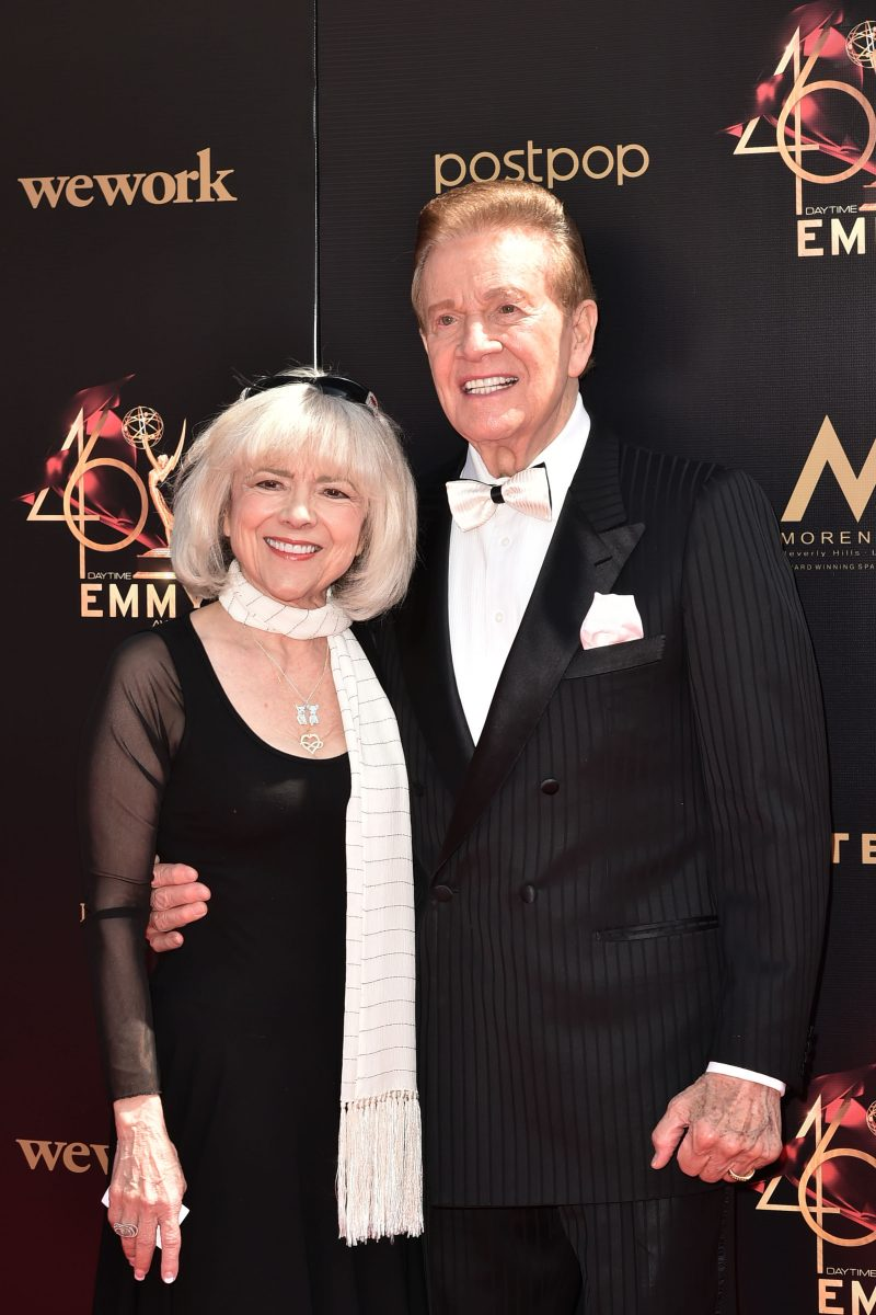 Wink Martindale and Sandy Martindale
