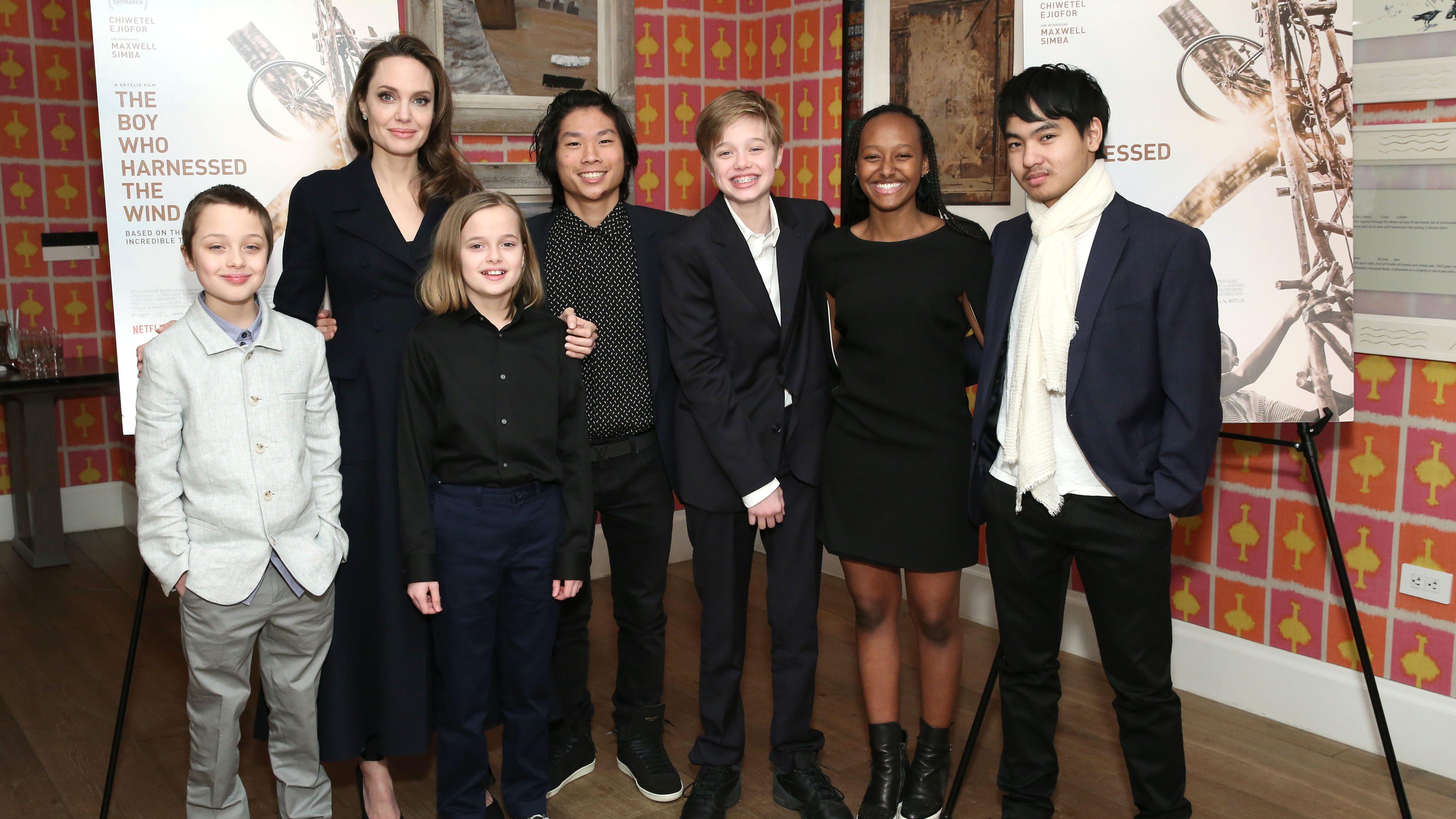 Angelina Jolie and Brad Pitt's Kids: Meet the Stars' 6 Children
