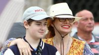 Debra Messing and Son Roman Bond On Venice Vacation – See the Cute Pics!