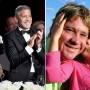 George Clooney Dad Nick Clooney and Bindi Irwin Dad Steve Irwin