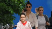 Now That's Sweet — Katie Holmes and Suri Cruise Make a Bakery Pit Stop for Breakfast