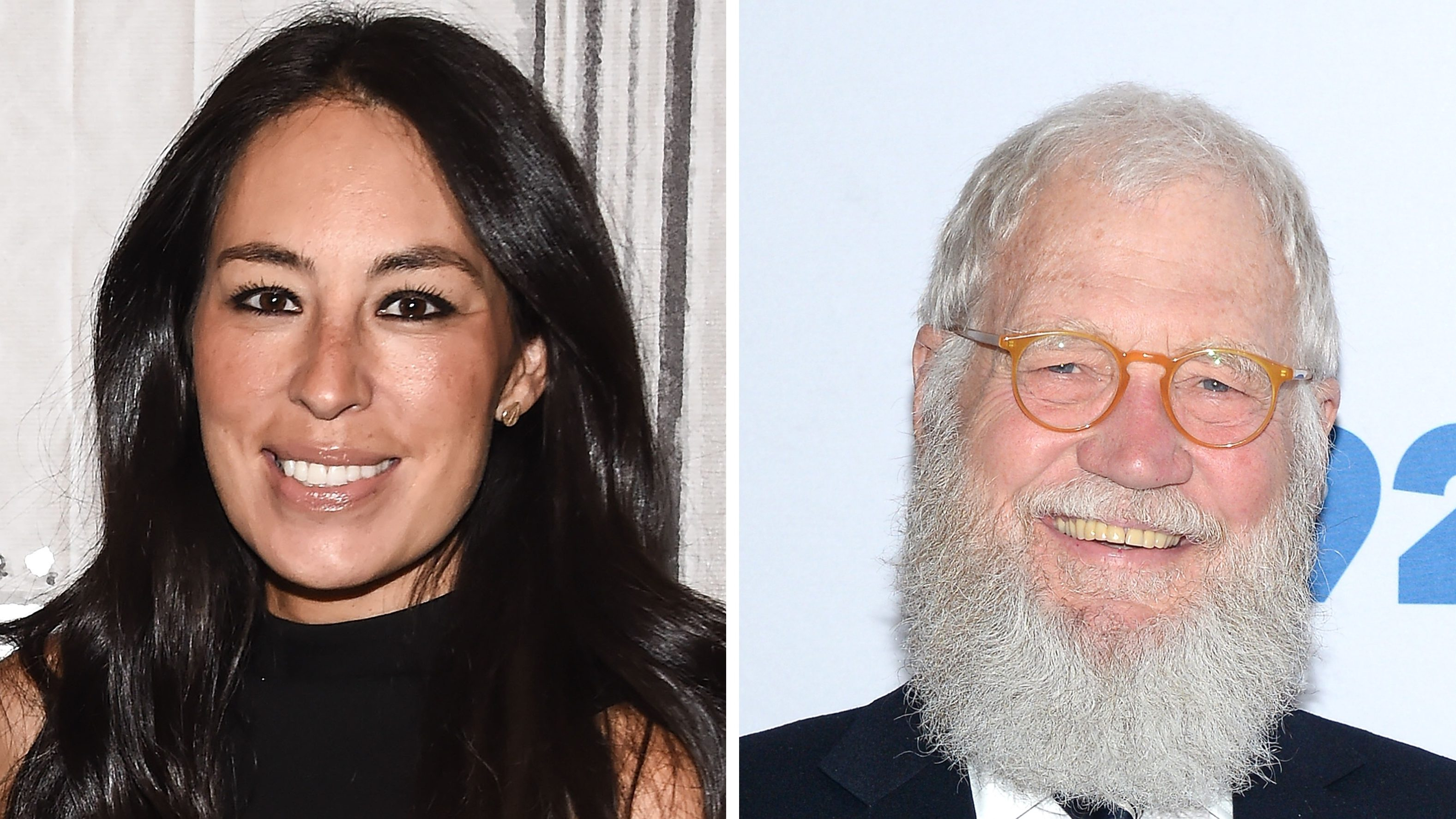 Joanna Gaines Recalls Telling Husband Chip About Her Celebrity Crush — And It's David Letterman!