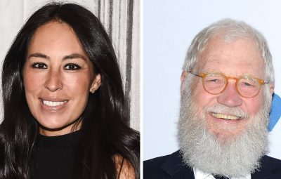 Joanna Gaines David Letterman