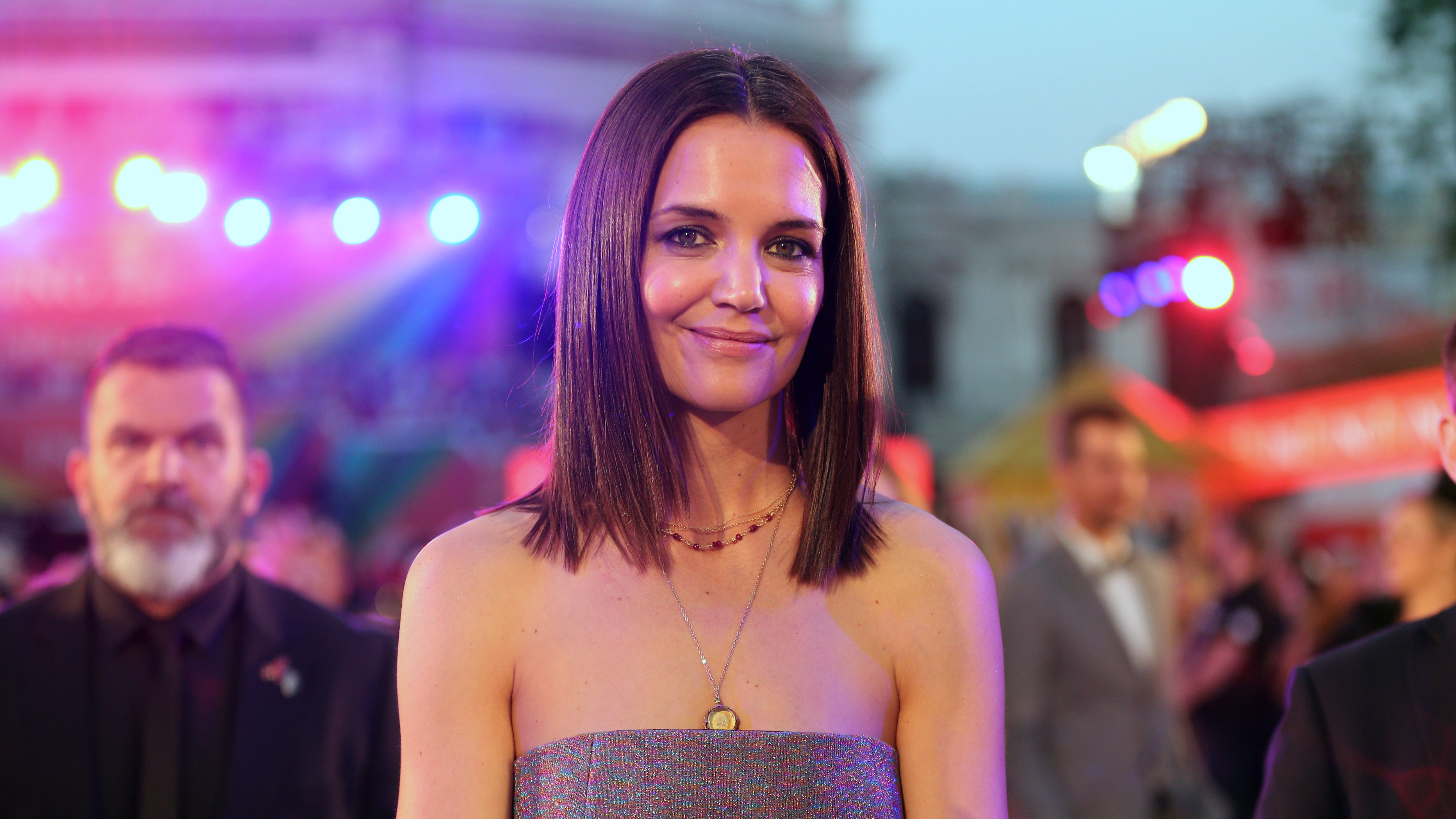 ExclusiveKatie Holmes Is Glowing After Going Public With Jamie Foxx: She's 'Constantly Smiling'