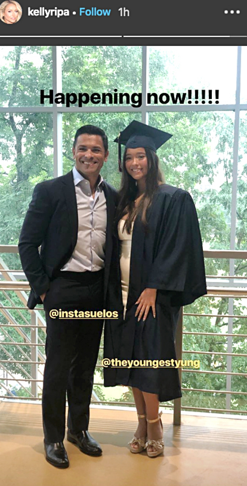 Mark Consuelos and Daughter Lola