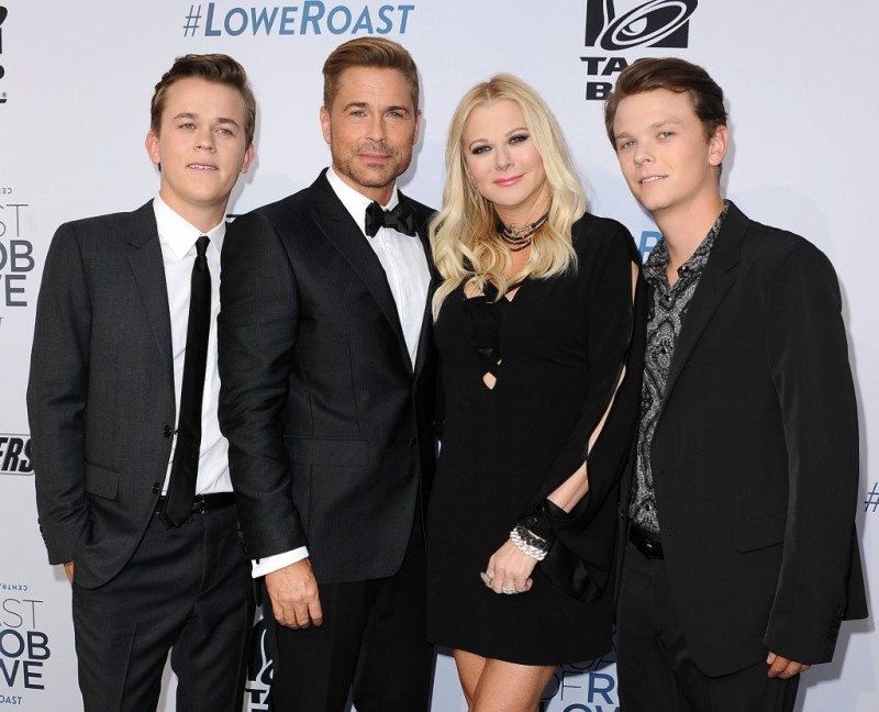Rob Lowe Family