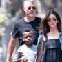 BACKGRID -- DO NOT REUSE ($20 pp) Sandra Bullock Boyfriend Bryan Randall Kids Birthday Party