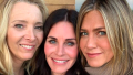 Jennifer Aniston Lisa Kudrow Courteney Cox