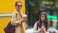 Suri Katie Holmes coffee