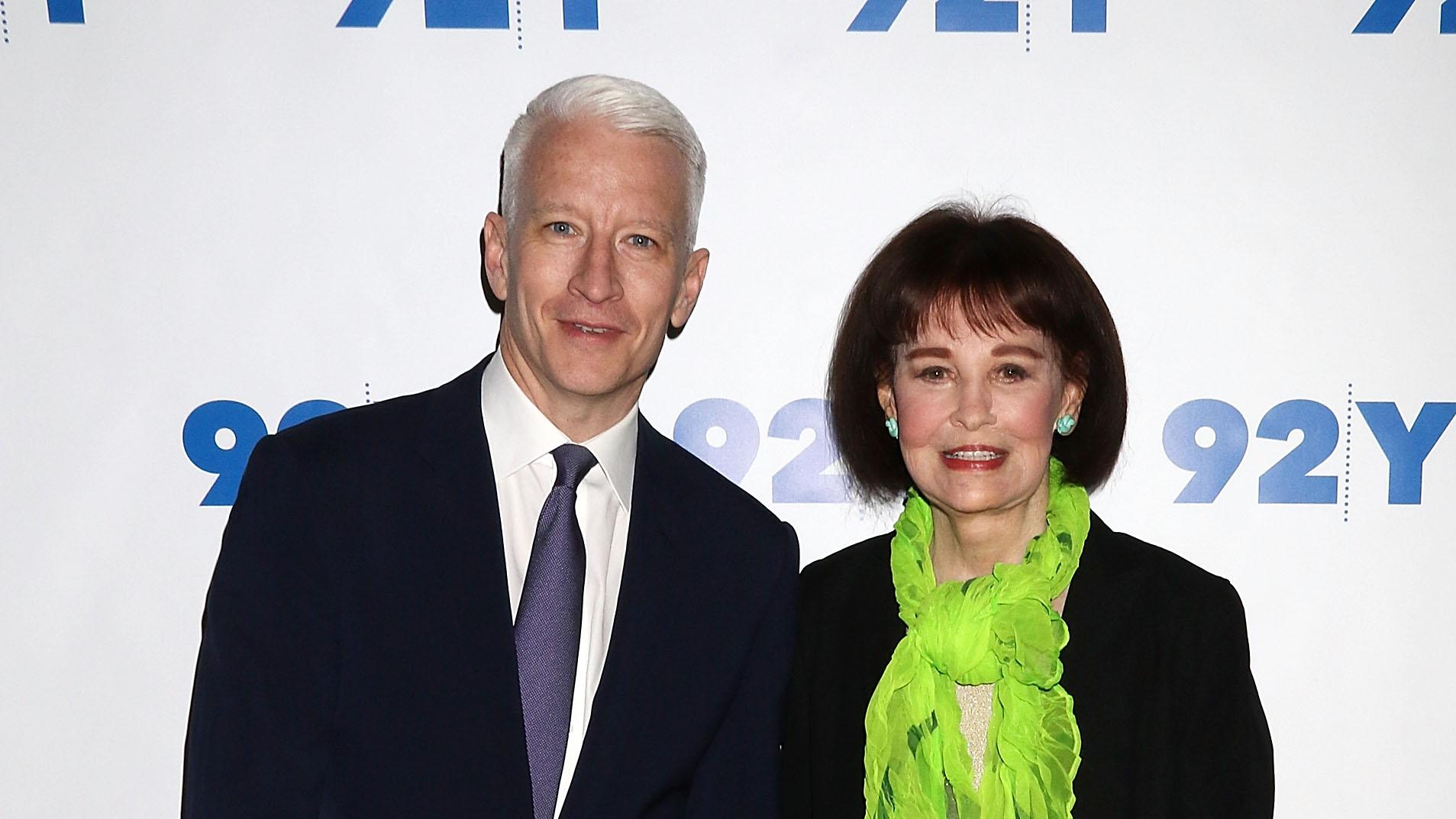 Gloria Vanderbilt Dead: Anderson Cooper's Mom Dies at Age 95