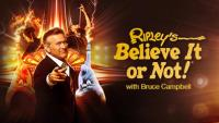 Bruce Campbell as host of Ripley's Believe It Or Not