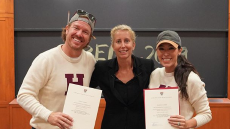 chip-gaines-joanna-gaines-harvard-course