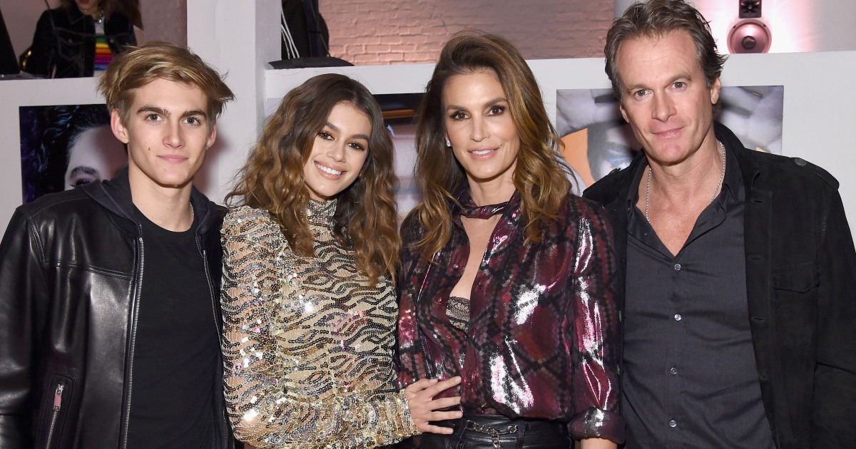 Cindy Crawford S Kids Meet Presley Gerber And Kaia Gerber