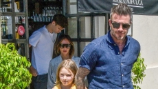 david-beckham-victoria-beckham-spotted-out-to-lunch-with-kids-harper-romeo-cruz