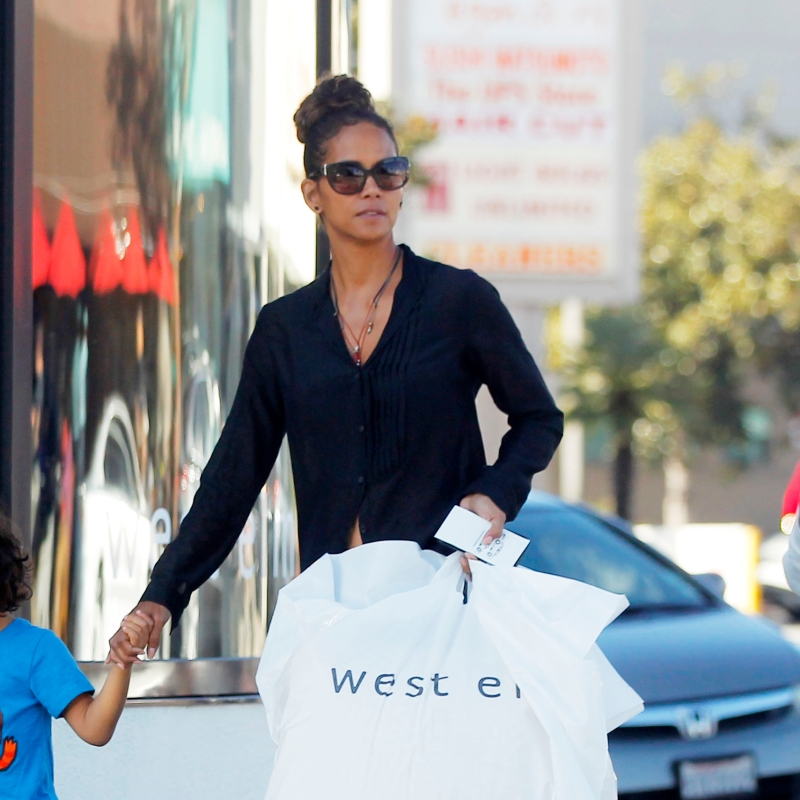 who is halle berry son