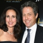 Andie MacDowell and Hugh Grant