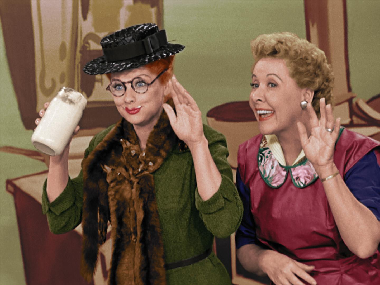 Set of 5 I Love Lucy Lucille Ball Million Dollar Bill