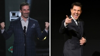 'Top Gun' Sequel Stars Jon Hamm and Tom Cruise