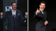 'Top Gun' Sequel Stars Jon Hamm and Tom Cruise