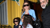 Mariah Carey Is All Smiles Leaving a West Hollywood Restaurant With Twin Kids in Tow — See the Cute Pics!