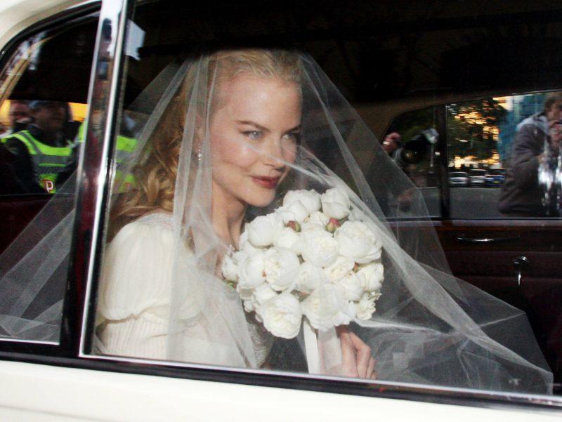 Nicole Kidman's wedding dress to marry Keith Urban