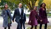 Barack Obama Takes Daughters on a Family Hiking Trip in France — See the Cool Photos!
