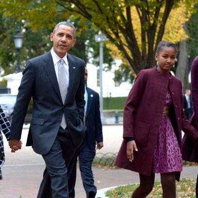 barack obama family