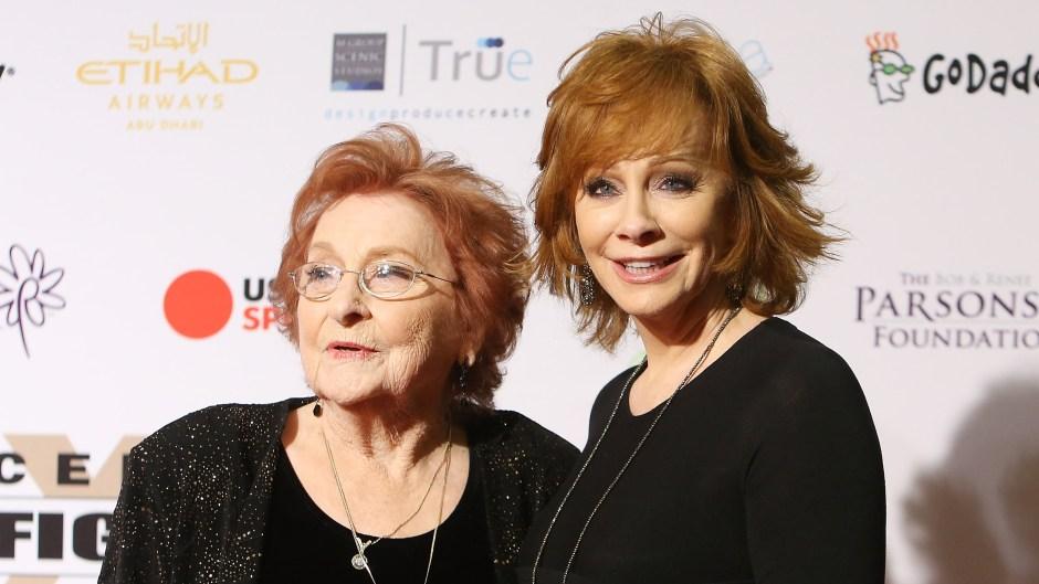 Reba McEntire and Mom Jacqueline
