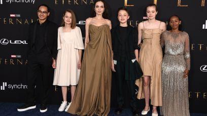 Angelina Jolie Motherhood Parenting Quotes 6 Kids