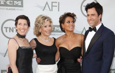 Jane Fonda and her kids