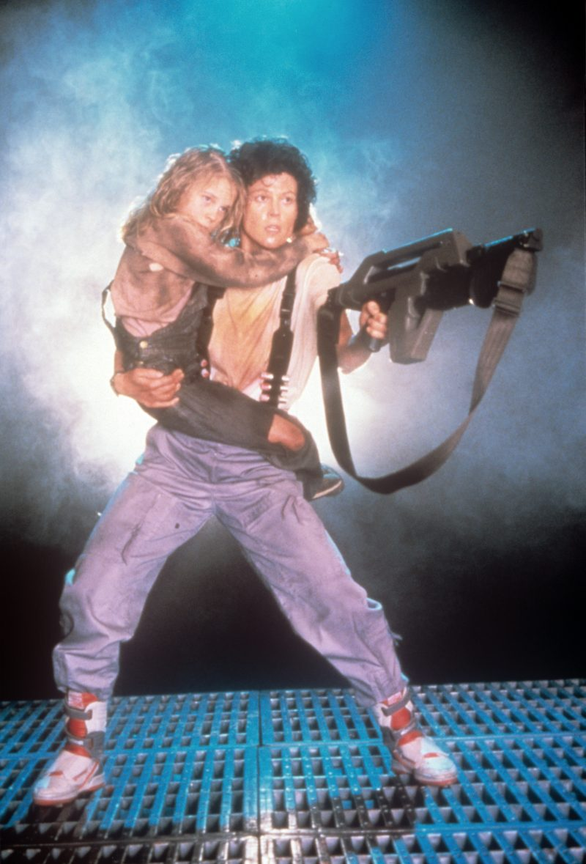 Sigourney Weaver in 'Aliens'