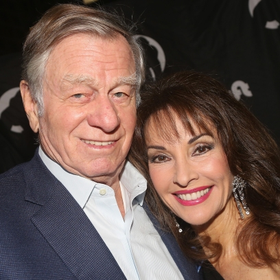 Susan Lucci and Helmut Huber