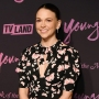 Sutton Foster in a floral dress at the 'Younger' season 6 premiere in NYC