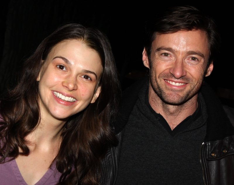 Sutton Foster and Hugh Jackman in 2008