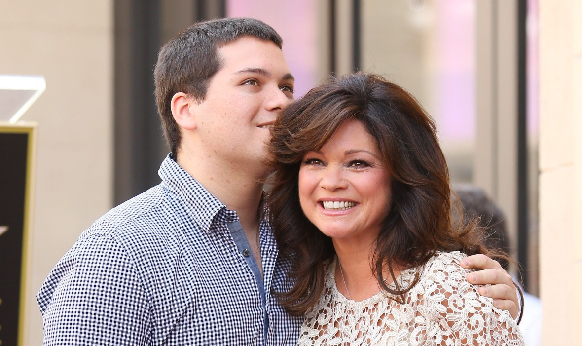 Valerie-Bertinelli with her son