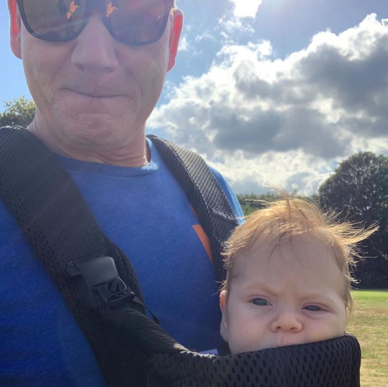 Gordon Ramsay and his son oscar