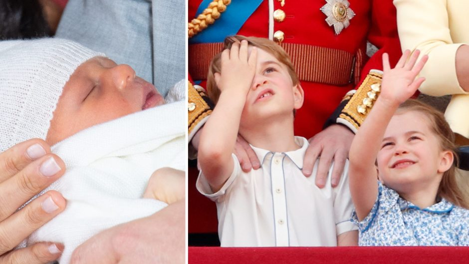 Baby Archie Prince George Princess Charlotte