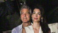 George Clooney and wife Amal look more loved-up than ever as they cosy up to watch 4th of July fireworks display aboard a boat on Lake Como George-Amal-Clooney-e1562338764857