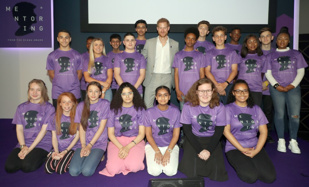 The Duke Of Sussex Attends The Diana Award National Youth Mentoring Summit
