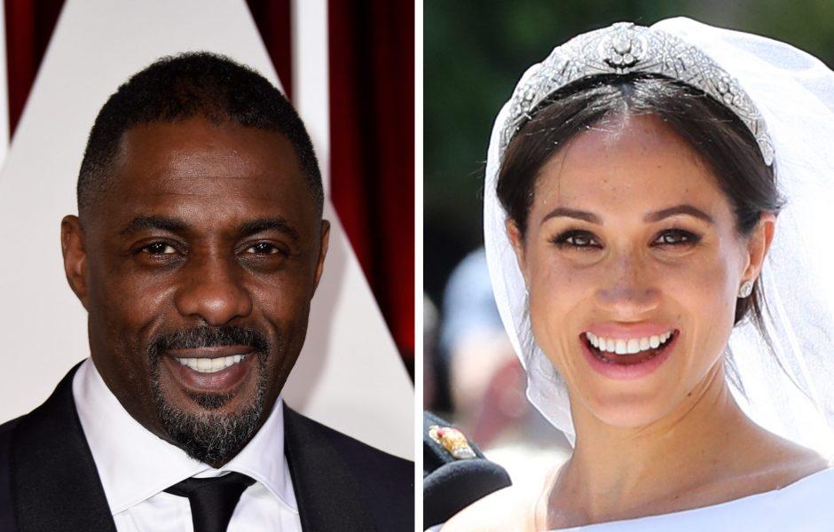 Meghan Markle Idris Elba