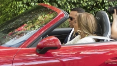 Jennifer Lopez Alex Rodriguez Birthday Car