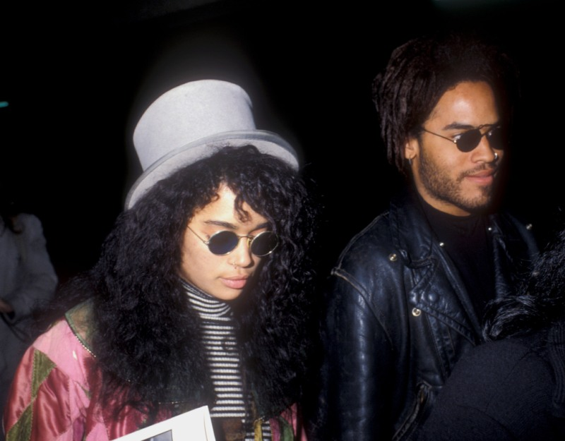 Lenny Kravitz And Lisa Bonet Put In Work To Be Best Friends