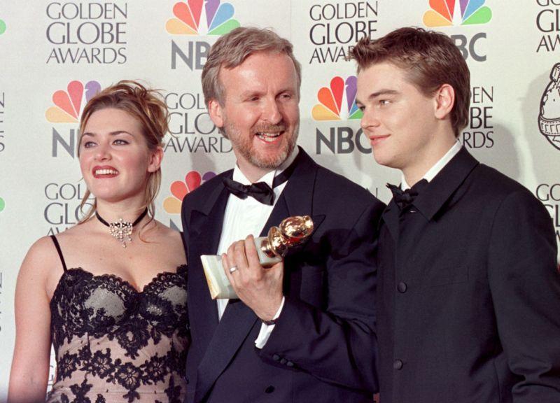Leonardo DiCaprio Kate Winslet james cameron