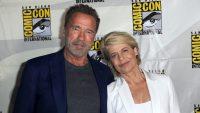 Arnold Schwarzenegger Linda Hamilton