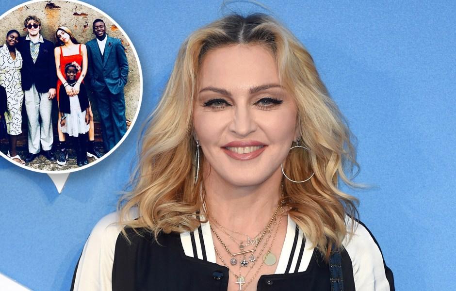 Madonna Kids 6 Children