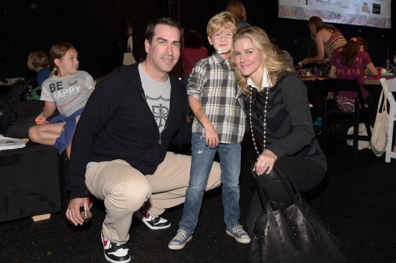 Rob Riggle Tiffany and George Riggle