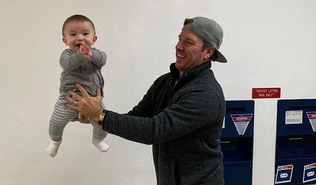 Chip Gaines Excitingly Reveals 1-Year-Old Son Crew Has Started Walking: 'It Was a Good Day'