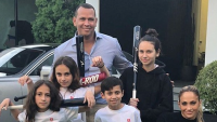 jlo and arod blended family