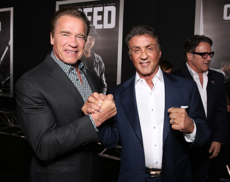 Arnold Schwarzenegger Sylvester Stallone